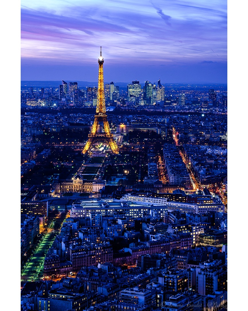 Couleurs des nuits Parisienne