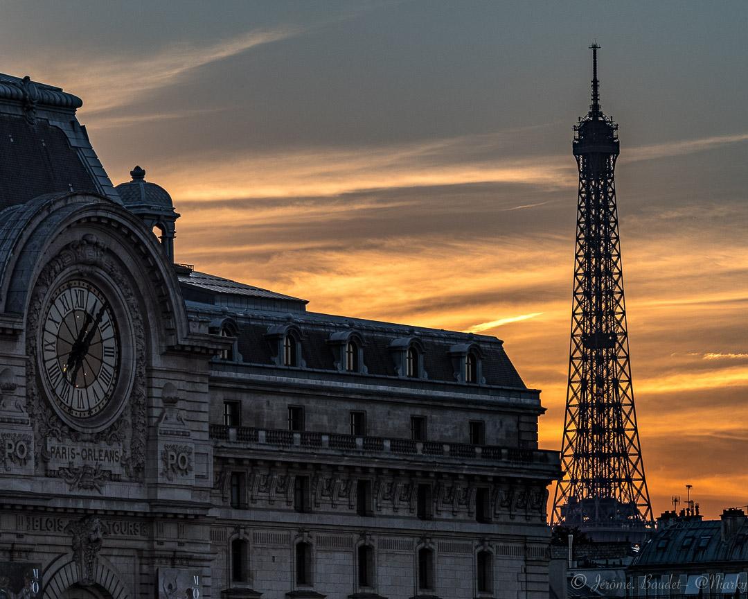 Soirée entre Paris et Orleans